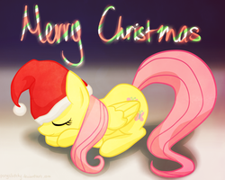 MLP: Fluttershy Christmas by PonySketchy