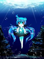 Deep-Sea Girl by Melky9714