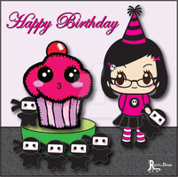 Sug birthday by TheRootsOfDesign