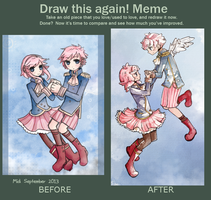 Draw this again meme by EchoBlossom123