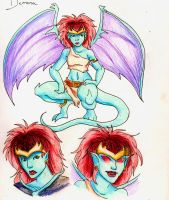 Demona by naomi-makes-art73
