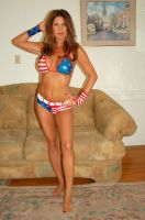 Holly Wood - Patriotic Holly by slamm345
