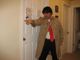 Dick Gumshoe cosplay2 by HopelessRomanticJedi