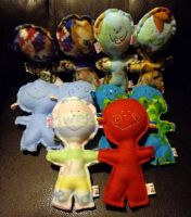 lollipop heads sewn by wiccanwitchiepoo