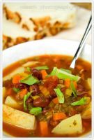 Minestrone soup by shatinn