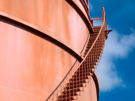 Stairs and cylinders 2 by peterpateman