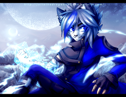 .: Ice Night :. by JuliaTheDragonCat
