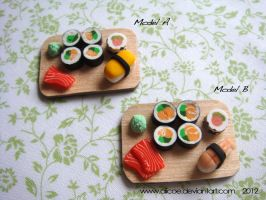 Japanese Set Magnets by alicoe