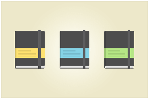119 Moleskine (freebie by pixelcave) by pixelcave