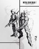 The MGS2 Team by marcelosouto