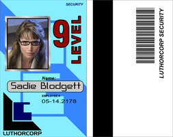 Luthorcorp Security ID Card by CmdrKerner