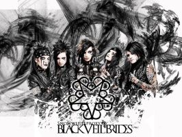 Black Veil Brides Wallpaper by EVFanKayda1020