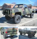 M-1008 CUCV Chevy K30 lifted by Deorse