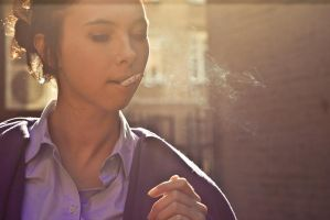 smoking is stylish by Nastasie