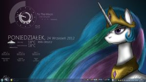 Serious Celestia - Rainmeter by NicolasDominique