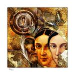 Collage2016-110 ... HEADS with Butterflies by Xantipa2