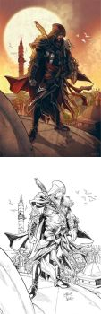 Assassin's Creed commission by CarlosGomezArtist