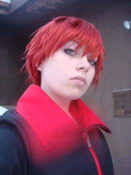 sasori cosplay by SilverHeart18