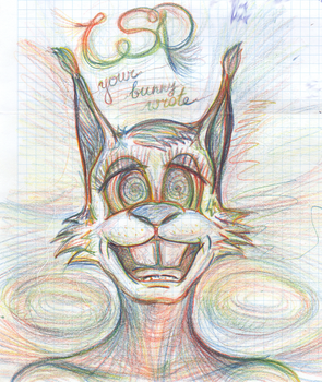 LSD Bunny by AmDDRed