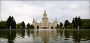 Moscow State University by Bambr