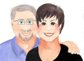 Mike and Sherry by Impsgramma