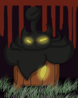Halloween Pic: Pumpkaboo by YoshiMister