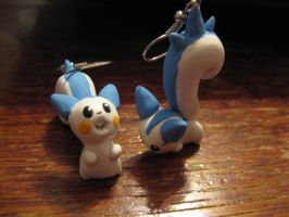 Pachirisu Earrings by Melyon