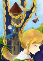 Rapunzel by nao148