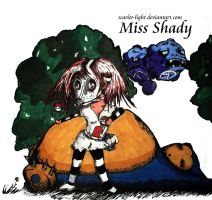 Miss-Shady commision by scarlet-light
