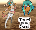 Izumi of the Sand by Xiapharre