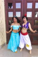 Aladdin: Princess and the Pauper by MomoKurumi