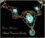 Celtic Necklace in Bronze by blackcurrantjewelry