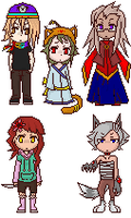 Pixel Adoptables by LifelsPain