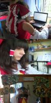 Daily life of Hakurei Reimu by mariheal