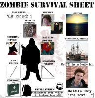 Zombie Sheet by ageeksgirl08