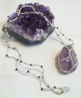 Fluorite Pendant by NevaSirenda