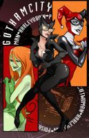 Gotham Girls by MediaViolence