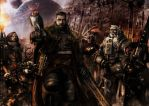 Inquisitor and retinue by slaine69