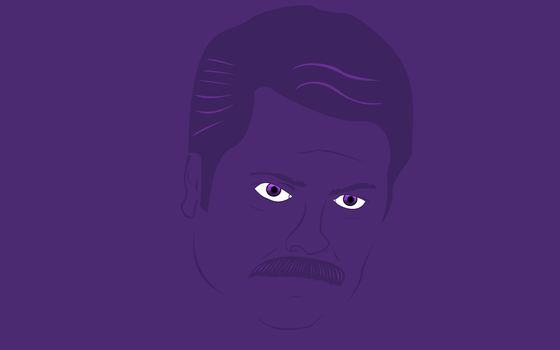 Ron Swanson by the7rend
