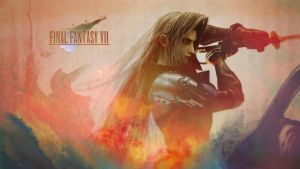 Sephiroth Wallpaper2 by CaroQuest