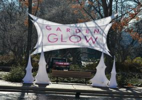 Garden Glow sign: day by MagicCometART
