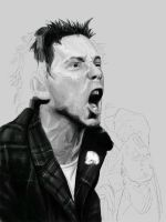 Johnny Rotten- WIP by DookieAdz