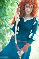 Merida Grin by Flying-Fox