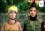 Naruto - Shikamaru saw something by Liloo-1412