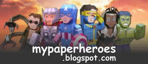 MyPaperheroes Blog Cover by xavierleo