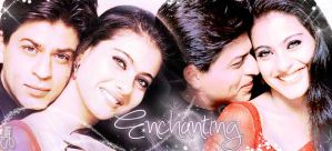 Enchanting Srkajol by scarletartista