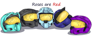 Roses by Blind-Kidd