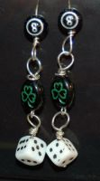 Lady Luck Earrings by saourealis
