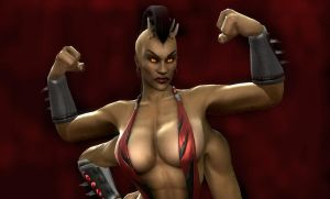 Mortal Kombat: Sheeva by winchester01