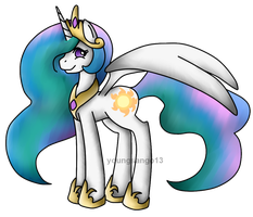Princess Celestia by youngsango13